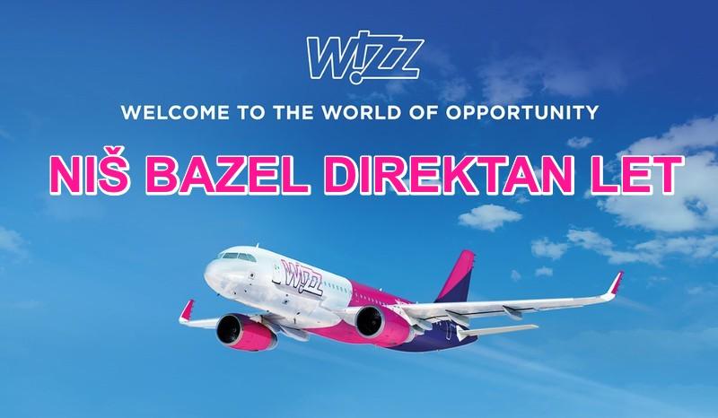 Niš Bazel avio karte